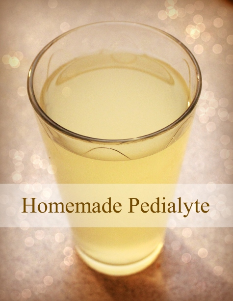 Homemade Pedialyte Recipe - Ashley's Homemade Adventures
