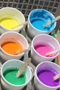 Homemade Sidewalk Paint Recipe